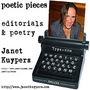poetic pieces: poetry & editorials CD by Janet Kuypers