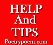 Poet: poetrypoemshelpandtips